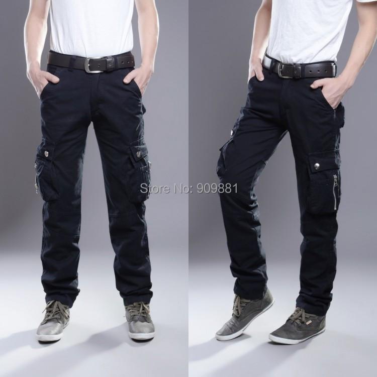 Men s black cargo pants