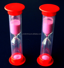 mini sand timer 2 minutes petite hourglass for kids
