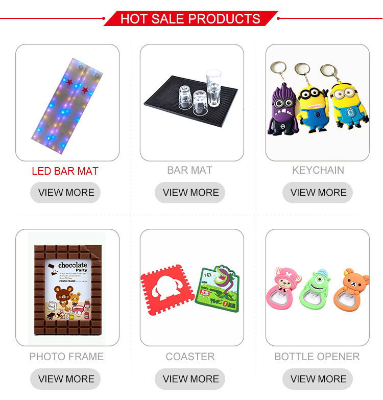 High quality Professional factory manufacture custom  shape cartoon character photo frame latest design of cheap pvc photo frame