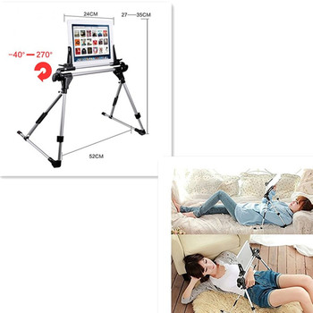 creative foldable tablet pc stand lazy bed desk floor mount holder for samrt phone ipad