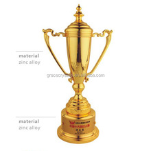 All parts metal cast trophy