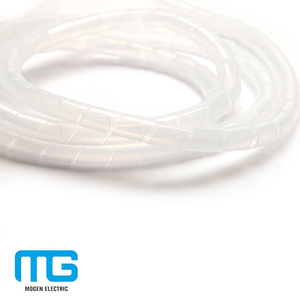 Plastiec Protection Spiral Cable Wire Insulation Sleeves