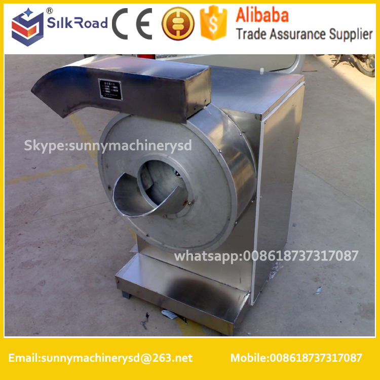 stainless steel commercial electric potato chip slicer/cutter