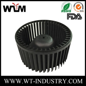 2018 China OEM plastic blower wheel injection molding customization wholesaler