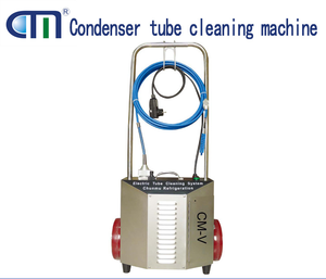 CM-V refrigerant pipe cleaning machine one-person operate tube cleaner