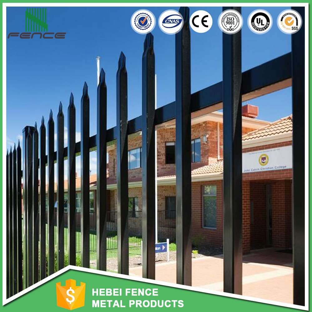 China brand competitive price tubular steel ornamental garden fence