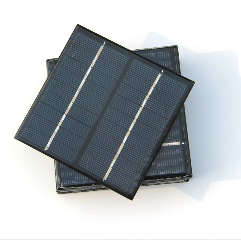 BUHESHUI Mini Solar Cell Solar Module DIY Solar Charger System Polycrystalline Solar <strong>Panel</strong> 2W 9V 115 *115MM