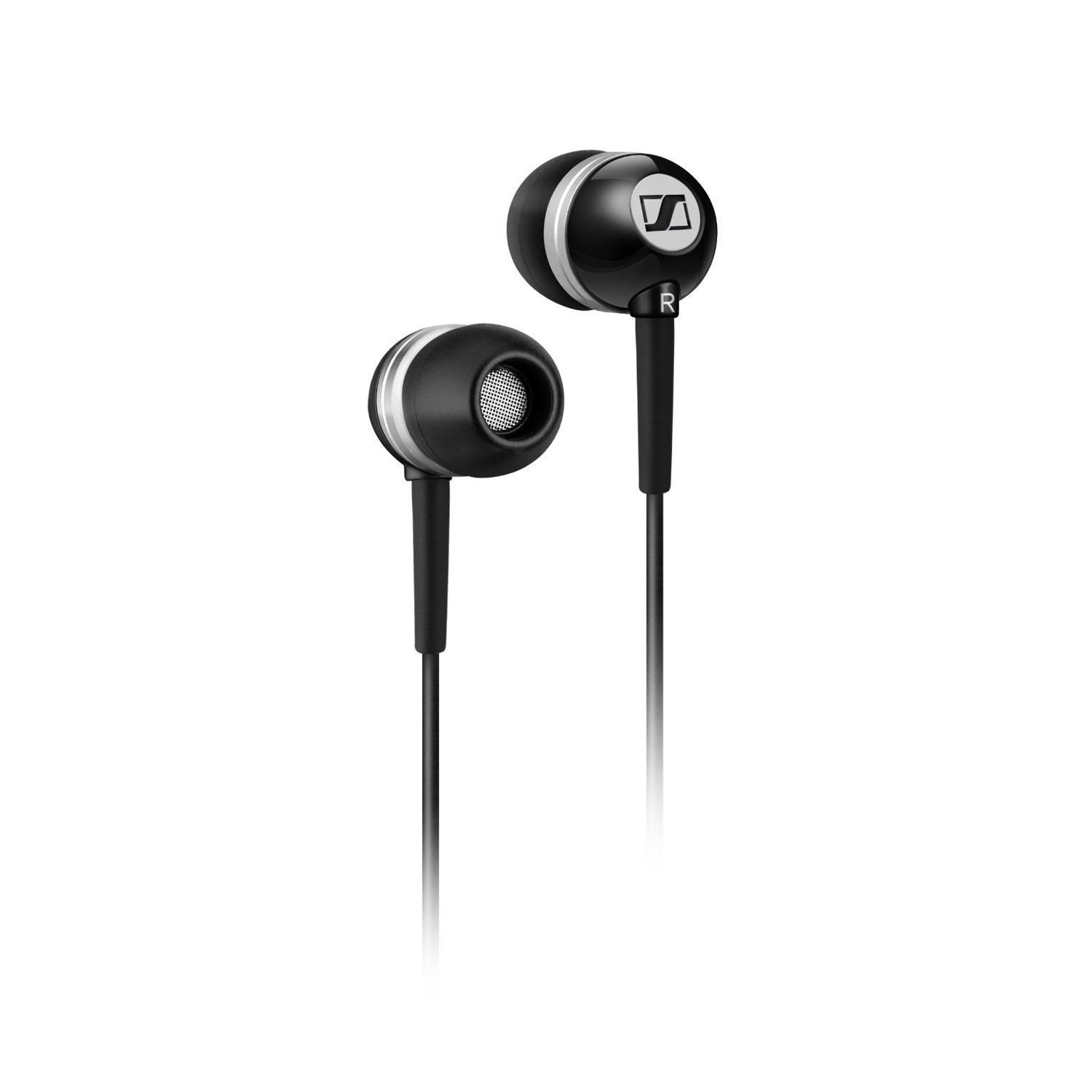 Sennheiser CX300 II CX 300 II Precision Enhanced Bass Earbuds, Black