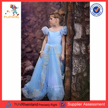 PGT-0199 Flower Girls Princess Bow Dress Kids Wedding Party Pageant Tulle tutu dresses