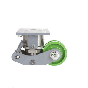 High pressure heavy duty hydraulic caster wheel