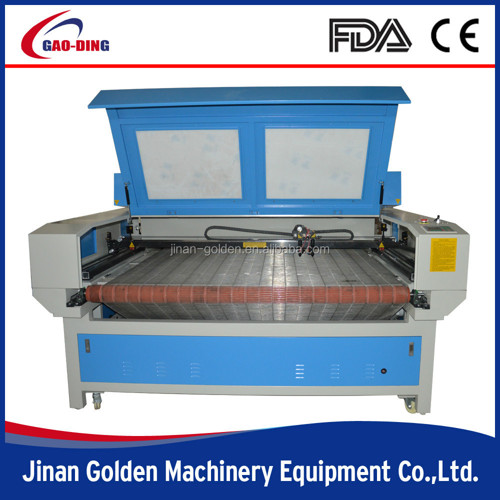 Fabric Laser Engraving Equipment with Auto Feeder for Home Textile,Denim,Leather,Carpet