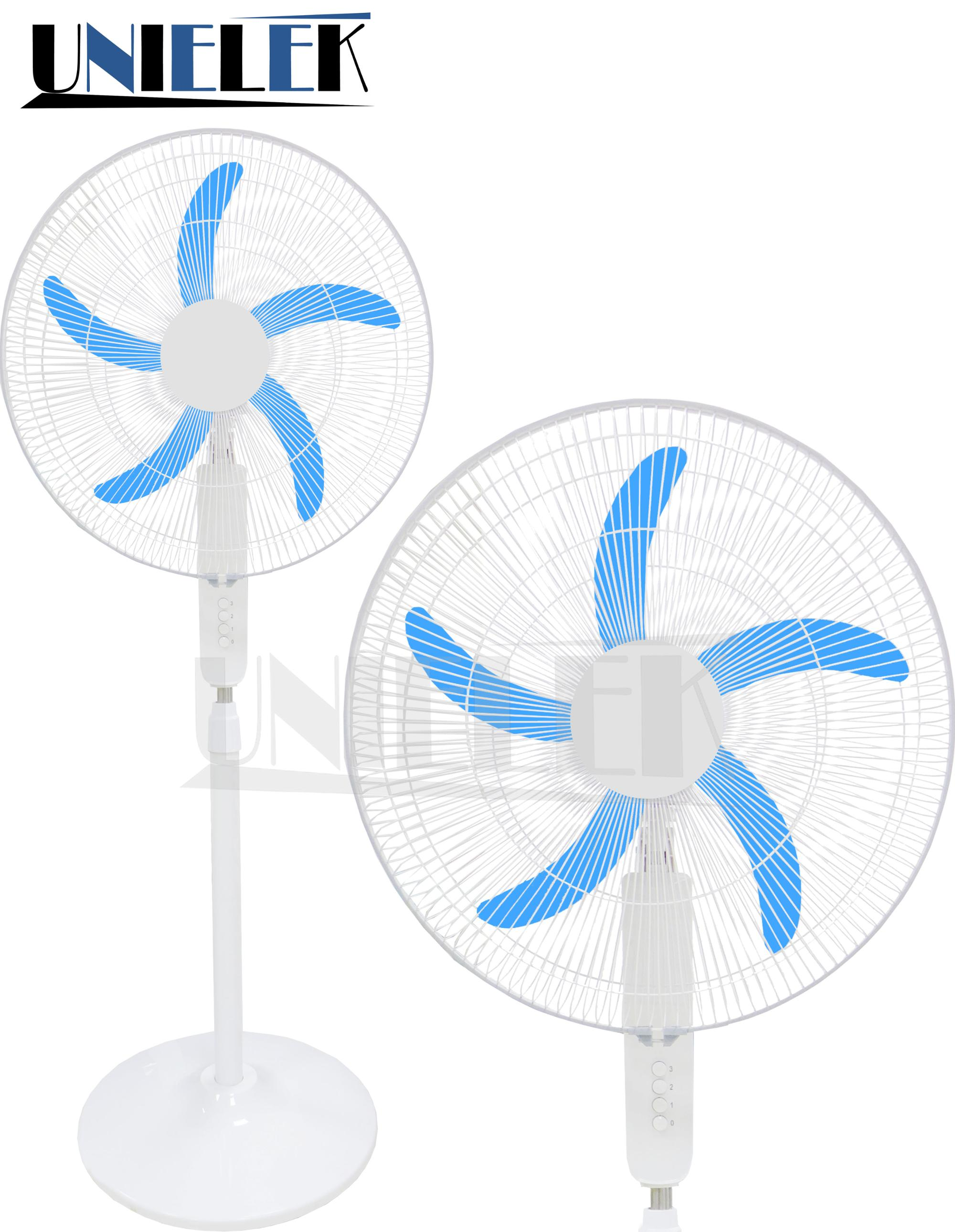 Battery Operated 20 Inch Rechargeable Solar Dc Cooling Fan Stand Design