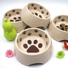 Hot Selling Pet Bowl with Dog Footprints Printing Safety Melamine Luxury Dog Bowls
