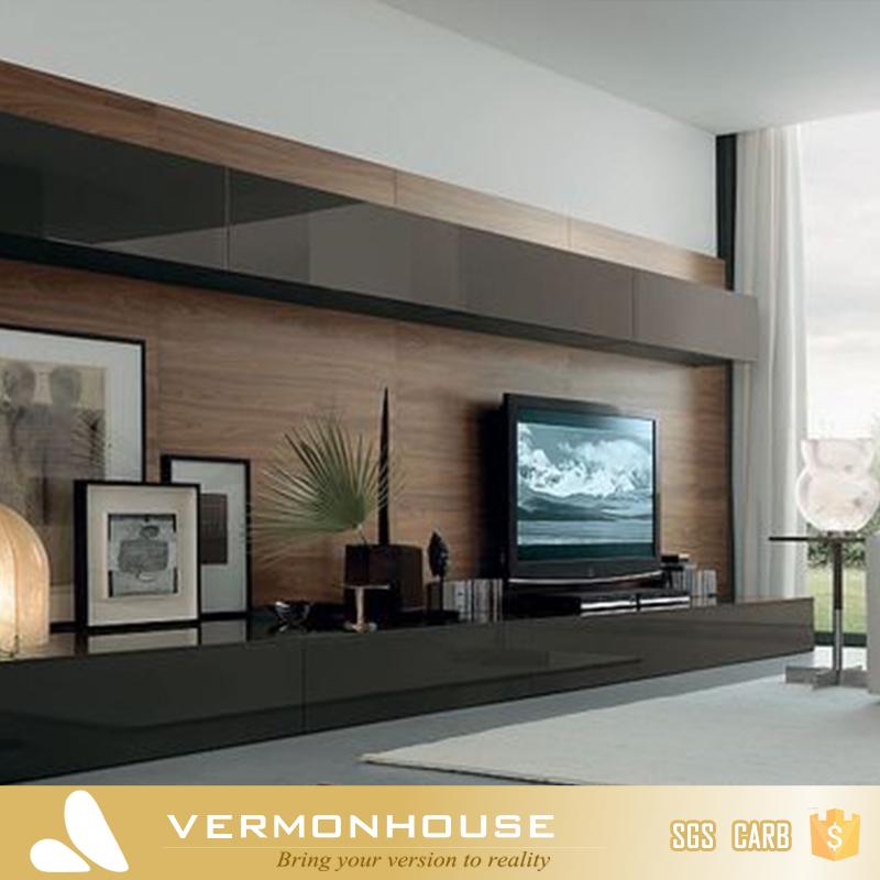 Living Room New Model Tv Cabinet With Showcase - Buy New Model Tv ...