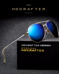 HDCRAFTER 2017 Fashion polarized fashionable colorful film driving riding sunglasses