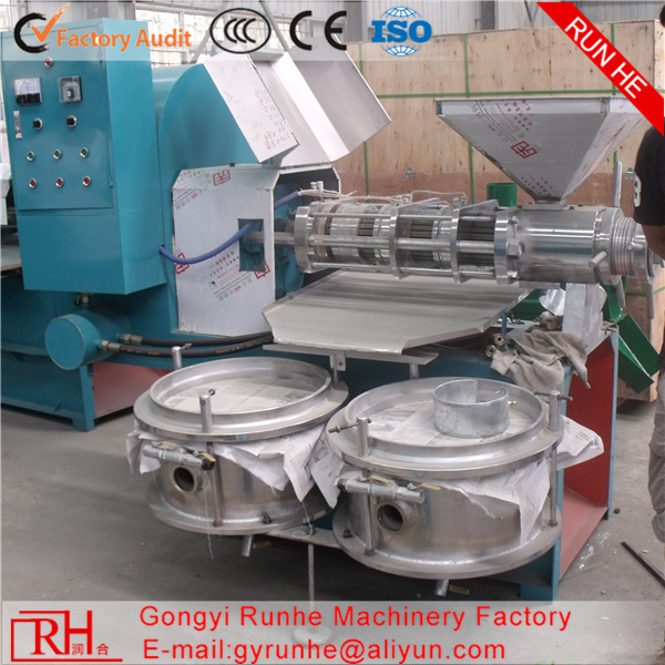 Oil machinery equipment/ Oil press cold press/ Palm oil processing machine