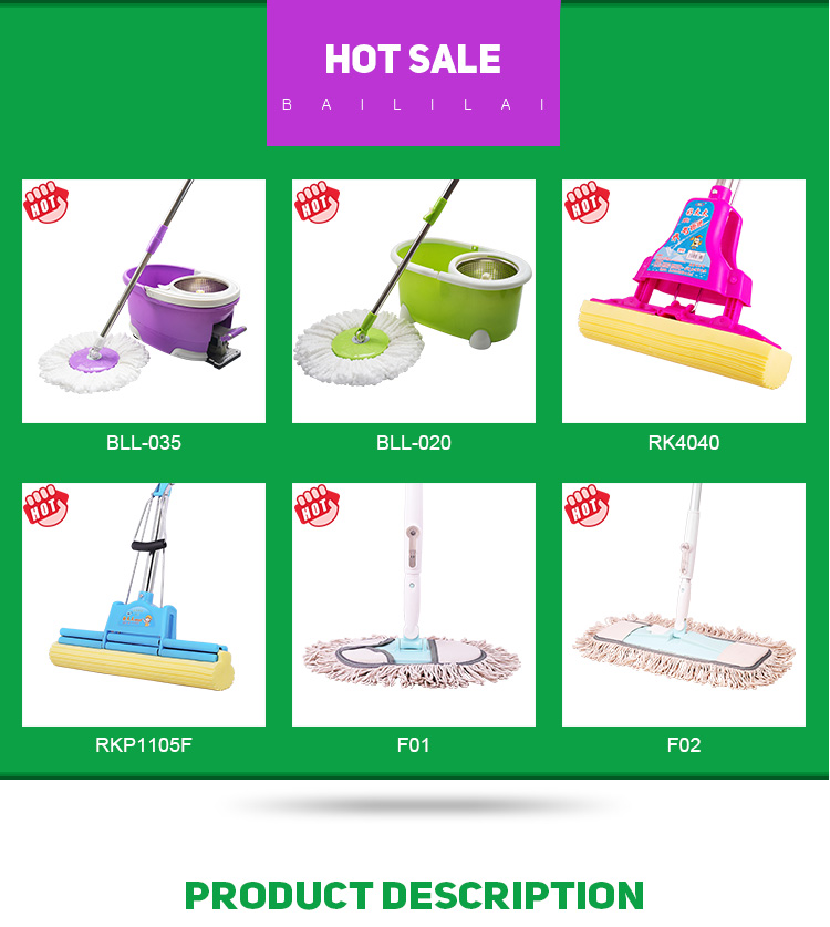 Ebay hot sale professional house  bathroom window ceiling home sir cleaning mop