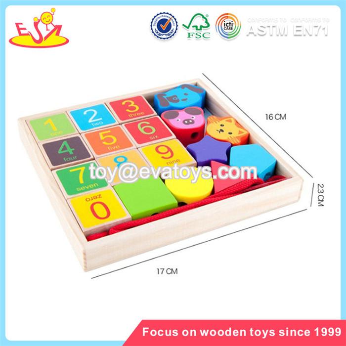 Wholesale Popular Wooden Kids Tangram Toy Develop Children