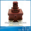 2pin 4pin T105 12A 250VAC 16A125VAC latching momentary miniature 8200 no nc push button switches