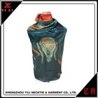 Famous picture of art < scream> digital printing silk scarf women scarves