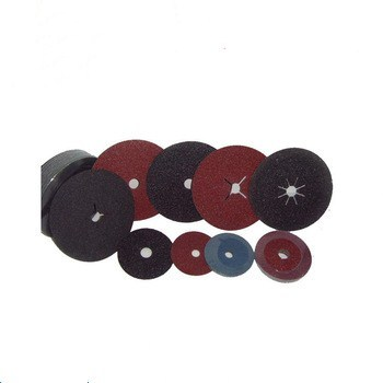 Resin over resin fiber disc/aluminum oxide fiber disc/silicon carbide fiber disc