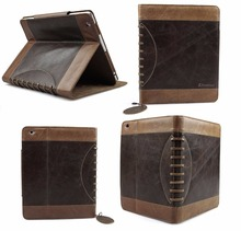 Luxury Buffalo Hide Vintage Leather Case for iPad 2/3/4