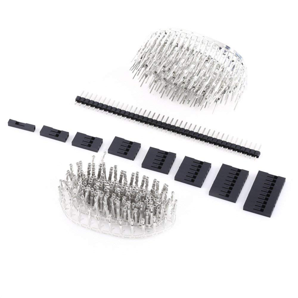 1450pcs/set Jumper Wire Connectors 2.54mm Male Female Pin Connector and Housing Header Kit