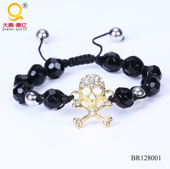 Fashion skull bracelet accessories thailand