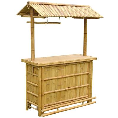 btb107 modell bambus tiki bar mit bambus dach bar m bel. Black Bedroom Furniture Sets. Home Design Ideas