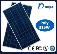 low cost solar panels 315W poly pv solar module