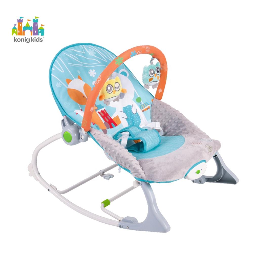Konig детское кресло-качалка для малышей вибрирующее детское кресло-качалка с музыкой