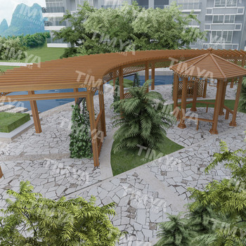 2015 Garden Metal Garden Bridges