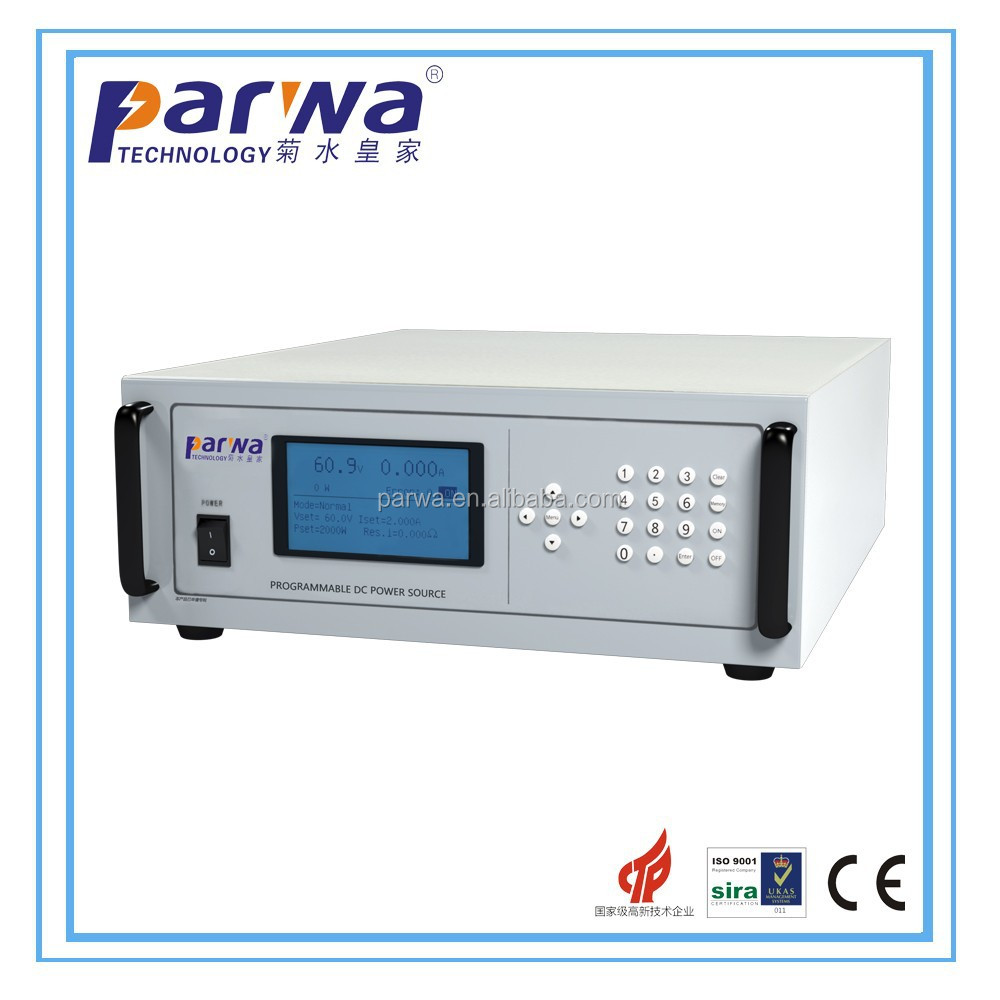 Variable DC Power Source can memory 9 groups datas and program 30 groups voltage, frequency and current