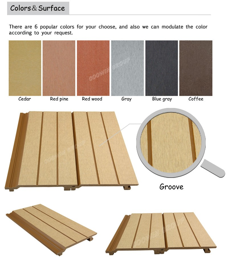 Engineered Flooring Type Wpc Composite Structural