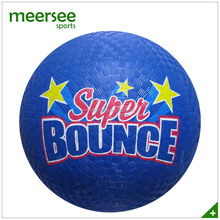 8.5'' bouncy rubber playground ball