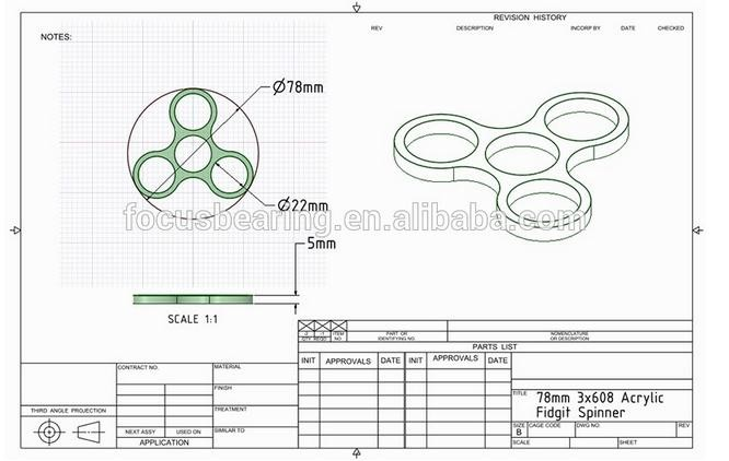 Alibaba supplier high speed fidget spinner toy with excellent quality fidget  spinner