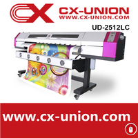Galaxy UD-2512LC universal digital vinyl printing machines eco solvent photo ink jet printer