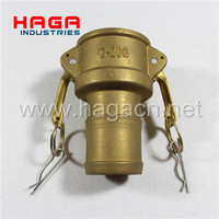 Brass Quick Release coupling Camlock Fitting