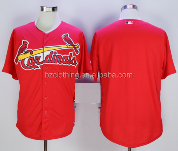 St. Louis Cardinals Red Cool Base American Baseball Jersey