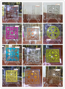 Decorative glass panels for sale buy colored glass for Decorative tempered glass panels