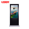 Touch kiosk 65 inch ourdoor advertising player lcd digital signage