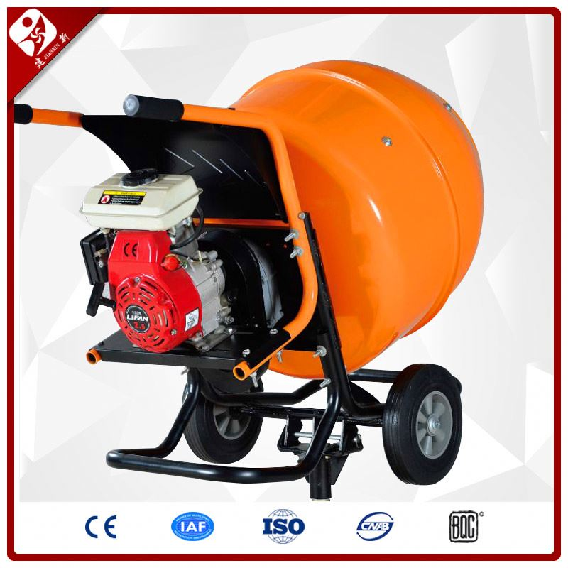 petrol engine powered movable mini type portable mini cement mixer factory
