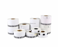 Yori glassiness release paper thermal sticker paper 17mm*54mm*400 DK-11204 Label