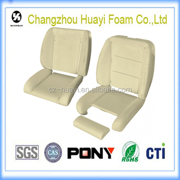 Closed Cell Foam Car Seat Molded Seat Foam