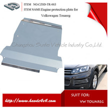engine protection plate skid plate bumper guard tow bar running board door sill grille wheel trims for vw touareg