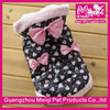 Cute design waterproof winter dog coats japanese pet clothes top paw dog clothes