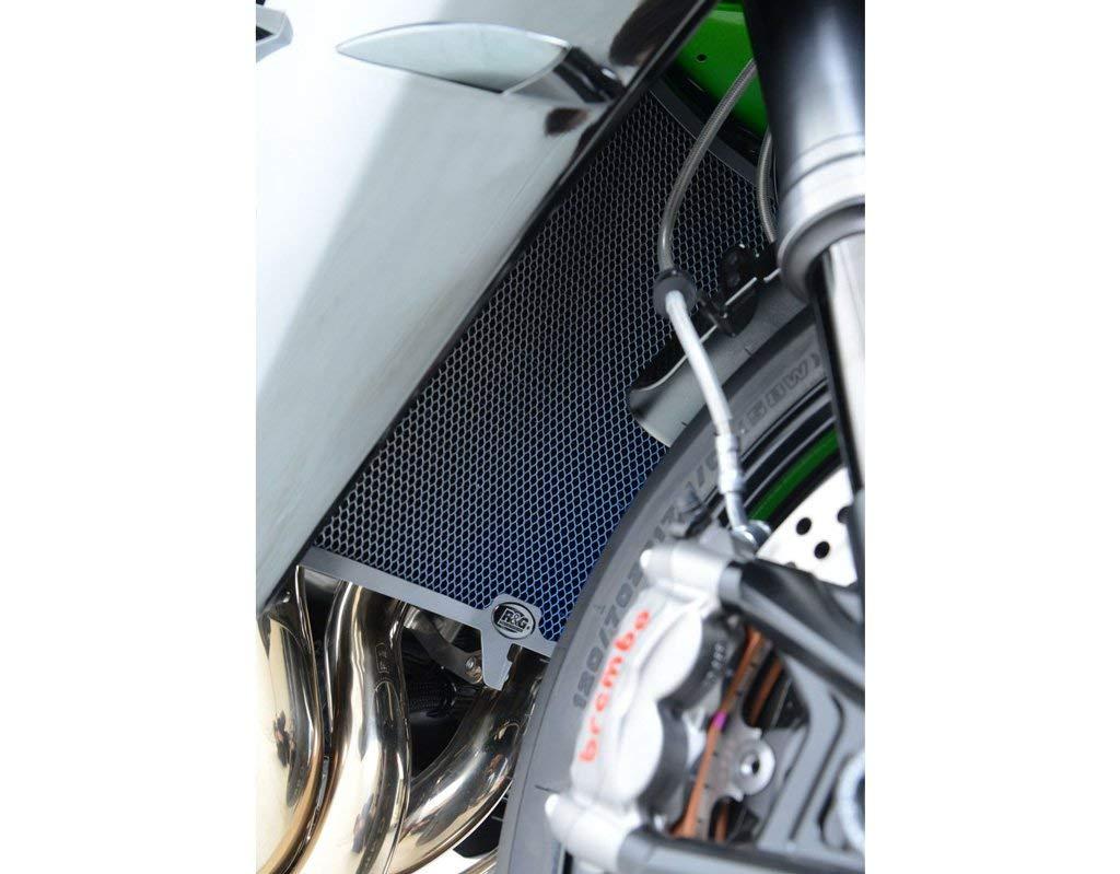 R&G Racing Titanium Radiator Guard for Aprilia RSV4 RR '15, RSV4 RF '15 & Tuono V4 '15
