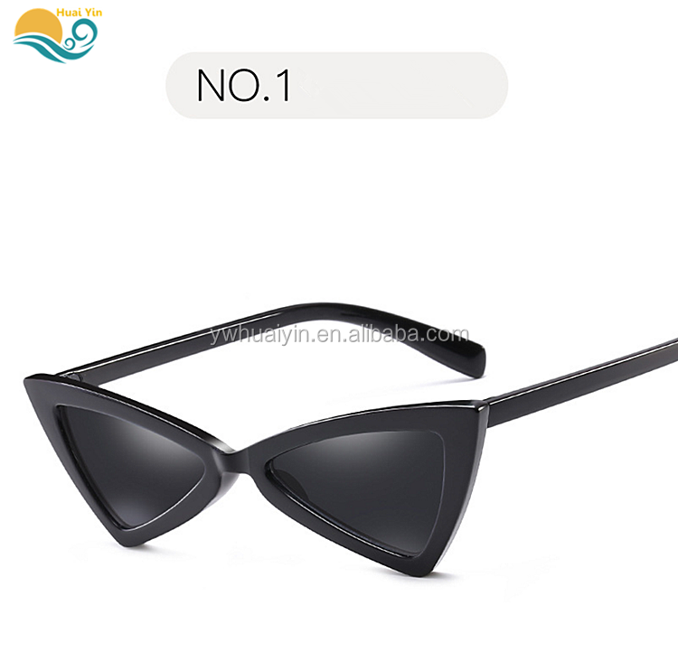 Hot sale PC anti-UV fashion eye protective safety goggles triangle Simple sunglass