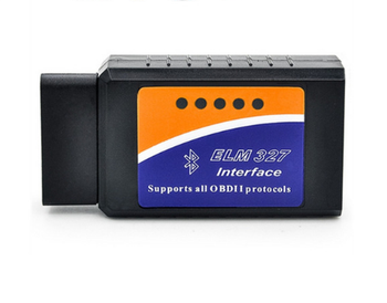 New OBD2 ELM327 Bluetooth V2.1 Wireless OBD/OBDII Diagnosis ELM 327 V2.1 Works For Android/PC Supports 7 Protocols