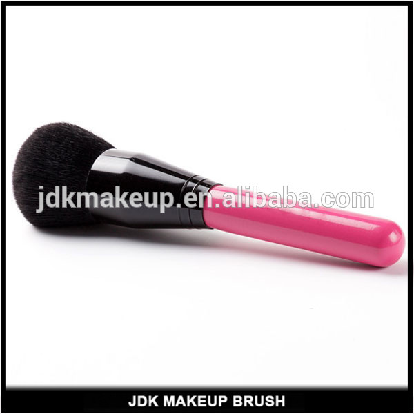 JDK makeup tools round shape synthetic hair rose red powder brush